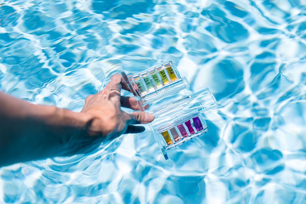 Water test sample