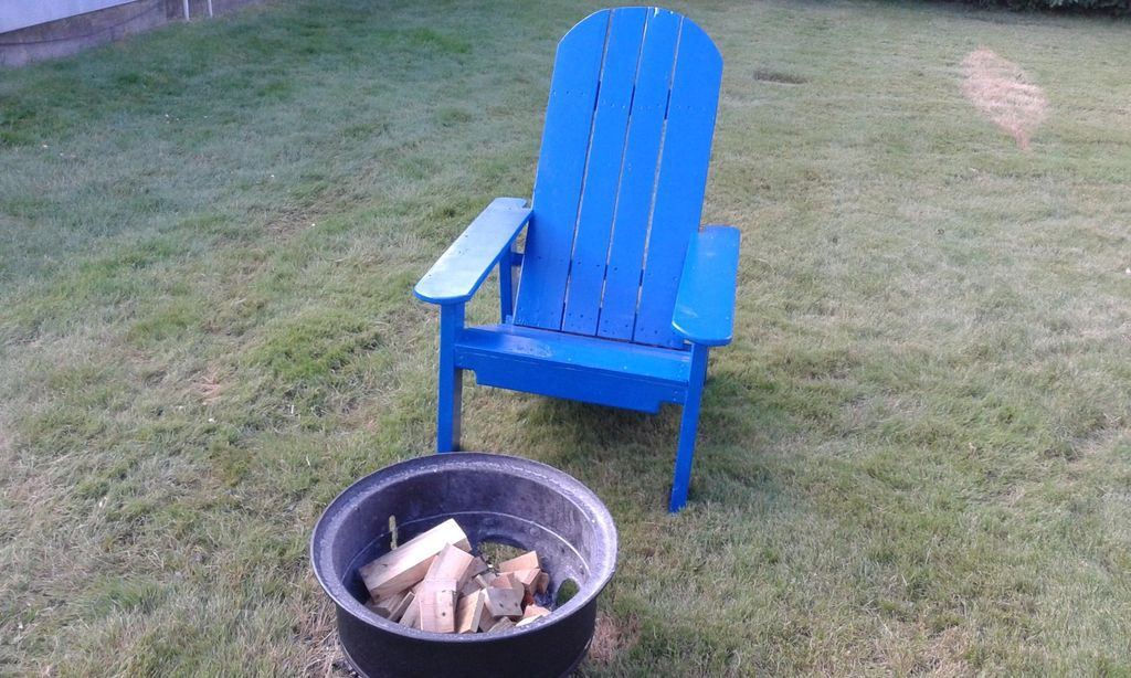 Free Pallet Adirondack Chair Plan From Instructables