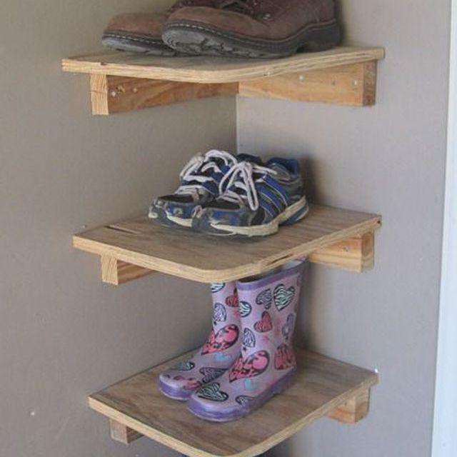Ideas To Get Your Garage S Shoe Pile, Garage Shoe Storage Ideas Diy