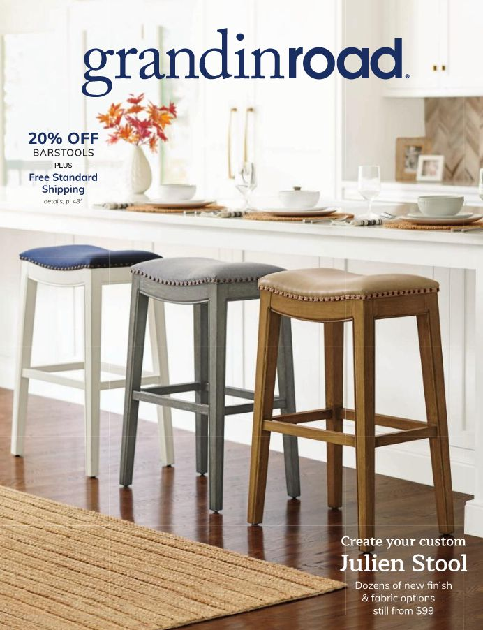 The cover of the October 2019 Grandin Road catalog