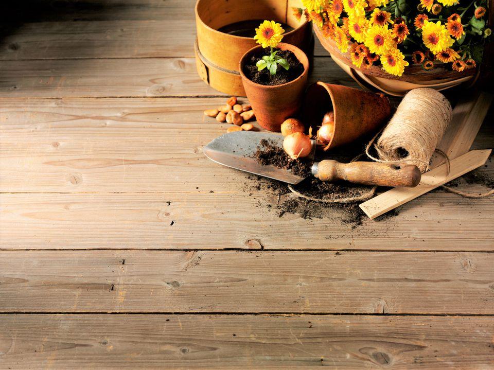 Garden Shed Flooring