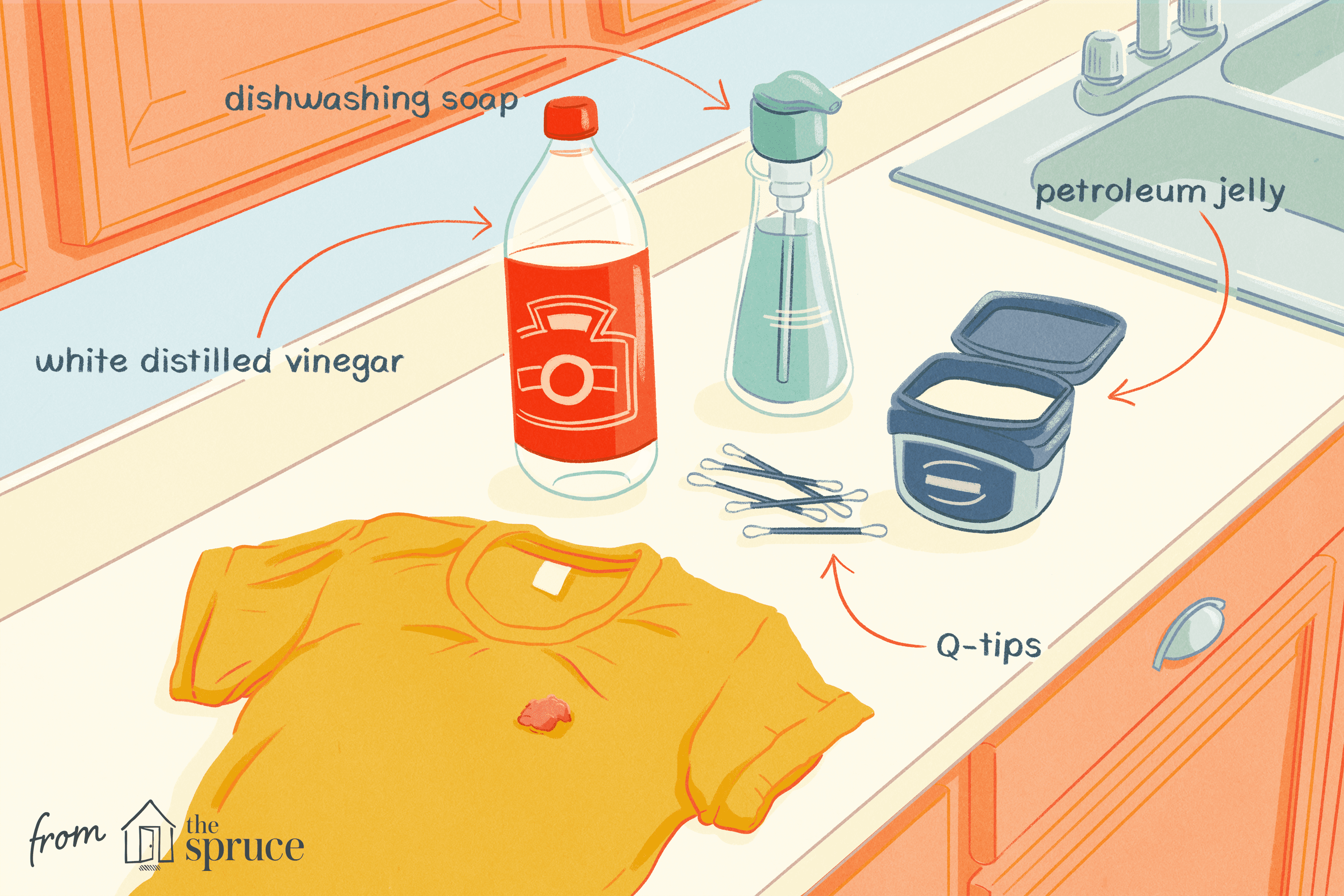How To Remove Gum Stains From Clothes