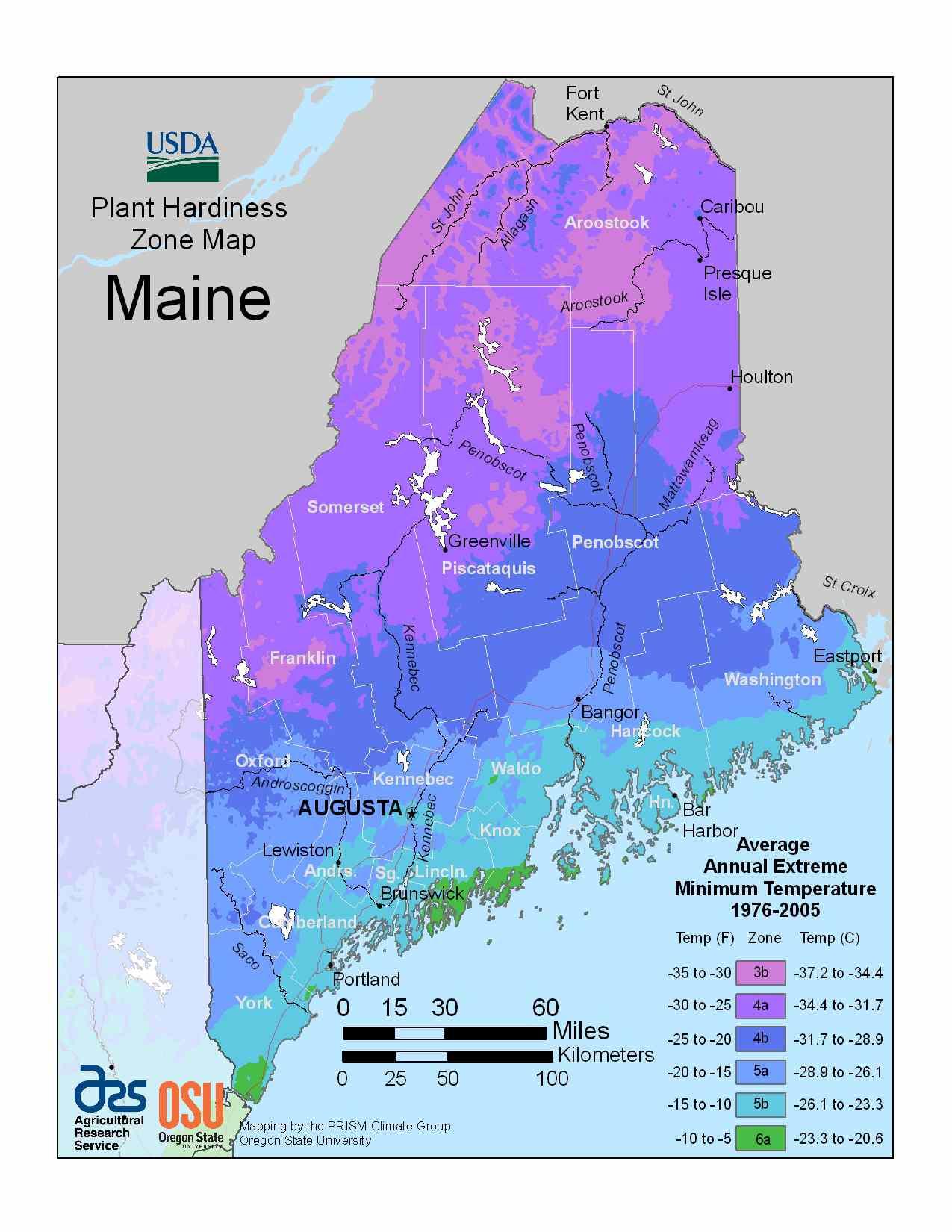 Photo of Maine Hardiness Zones