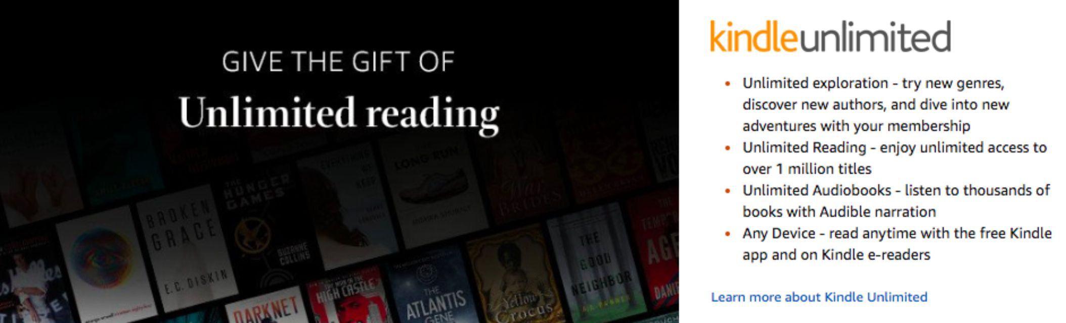 Kindle Unlimited Gift Subscription