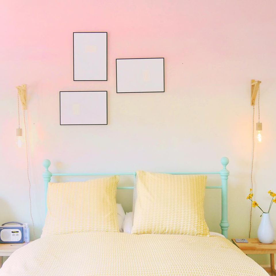 10 Spaces With Gorgeous Ombre Walls