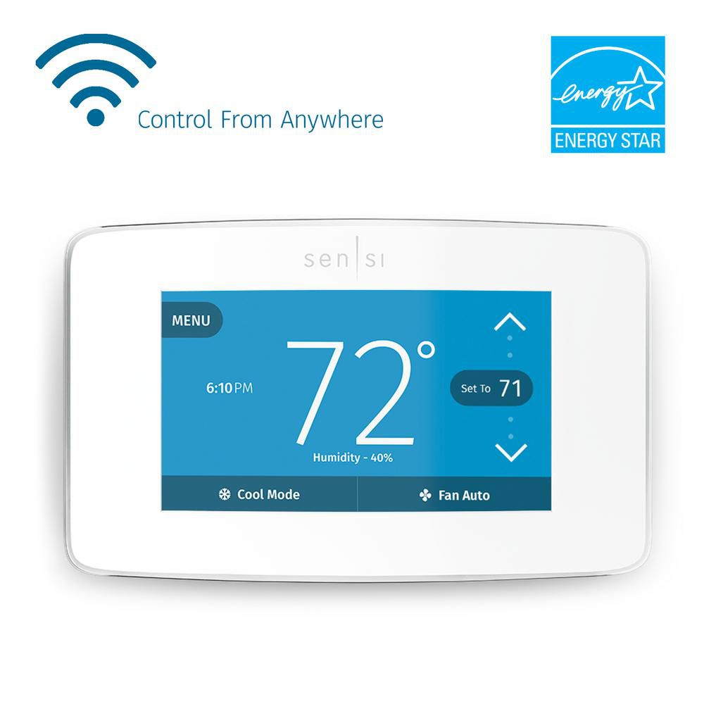 Sensi Touch Wi-Fi 7-Day Programmable Thermostat
