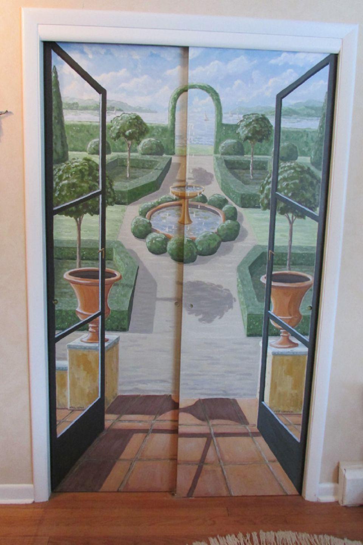 New DIY Closet Door Decorating Ideas and Photos DV57