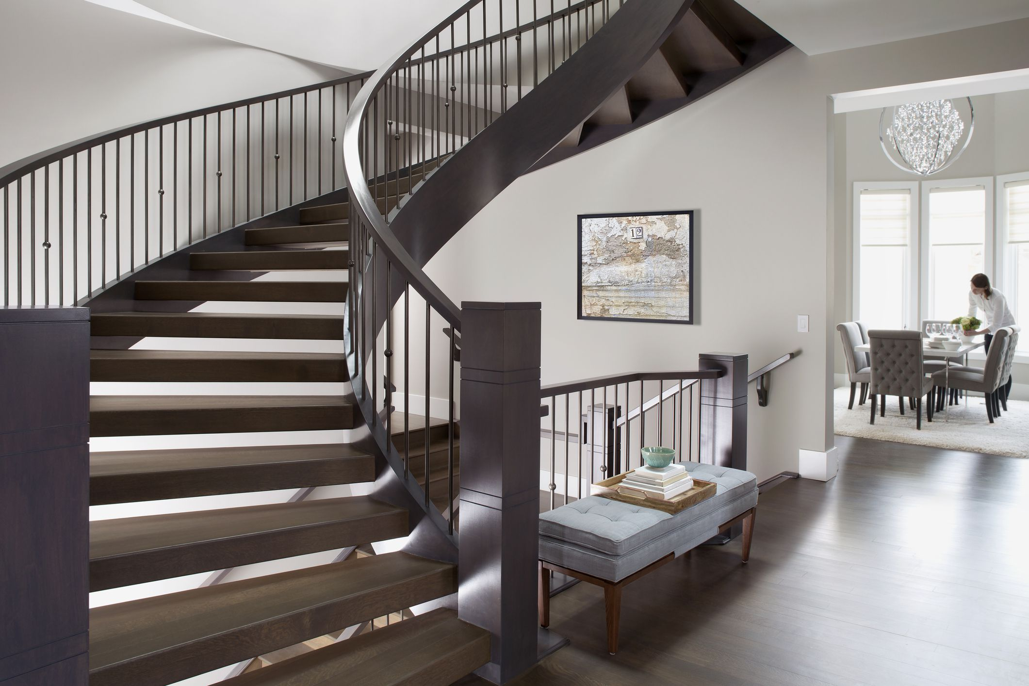 interior stair railing designs ideas and decors most.htm add metal balusters  railings  or posts to your stairs  add metal balusters  railings  or posts