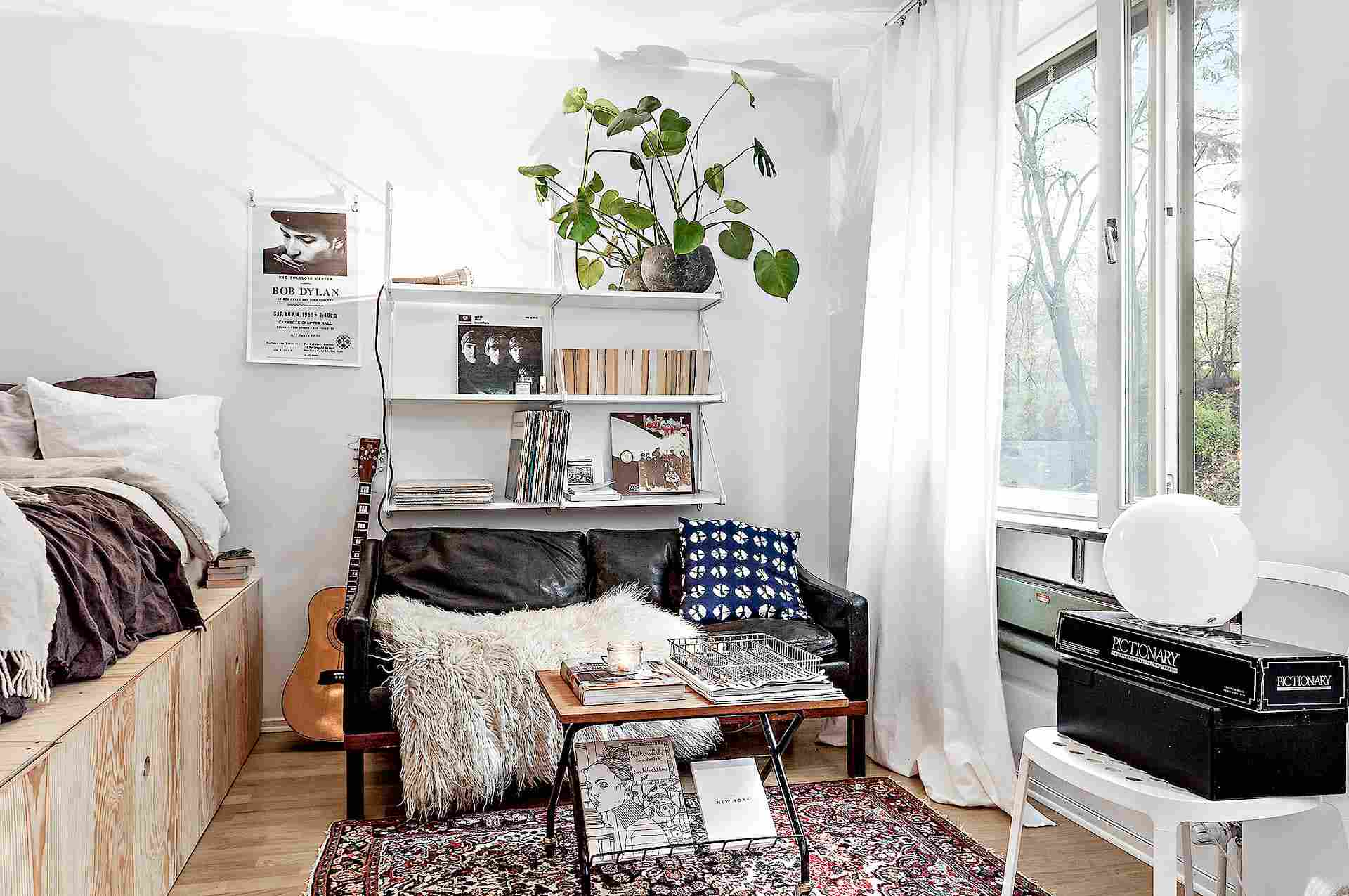 8 Ways to Create a Bedroom in a Studio Apartment
