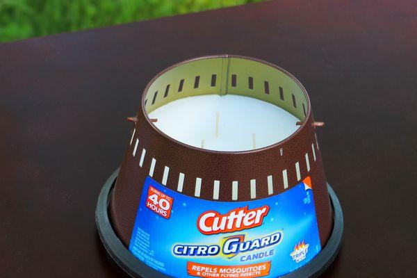 Cutter Citro Guard Triple Wick Candle