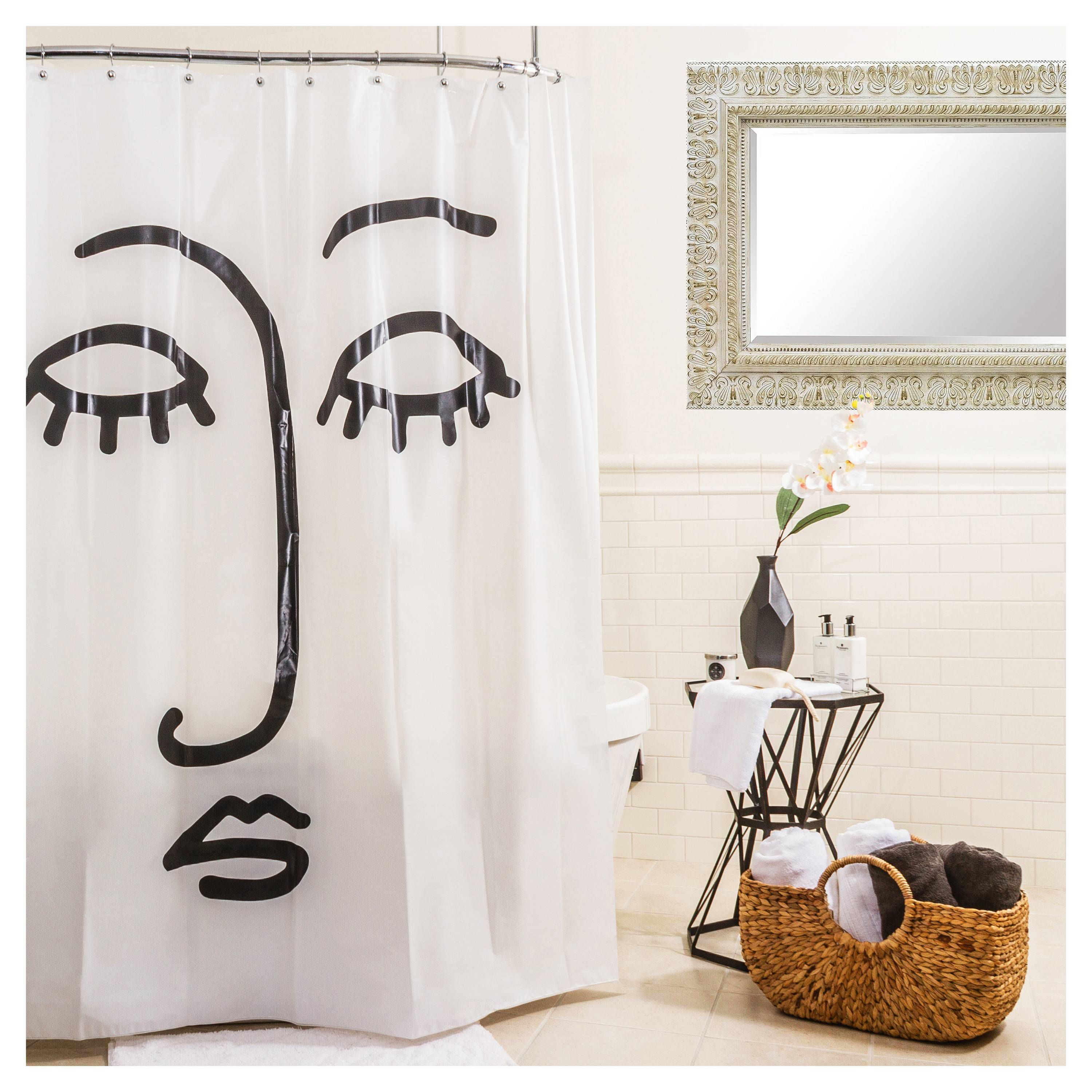 15 Bathroom Shower Curtains for Every Style