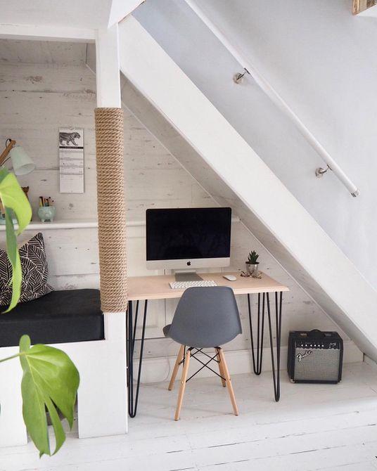 Escalera de espacio de trabajo