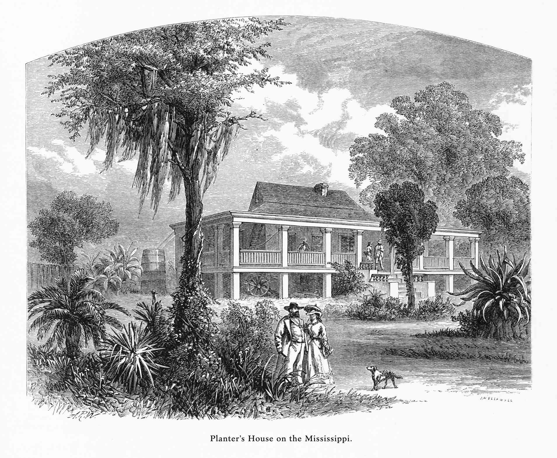 An image of a plantation home.