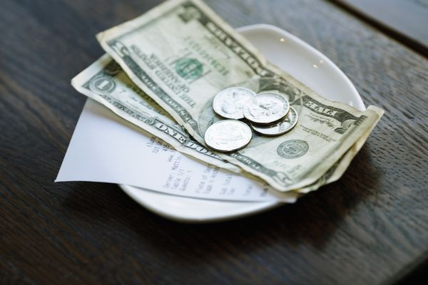 Receipt and money