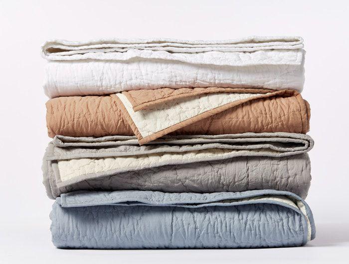 Coyuchi Manzanita Organic Handstitched Quilt