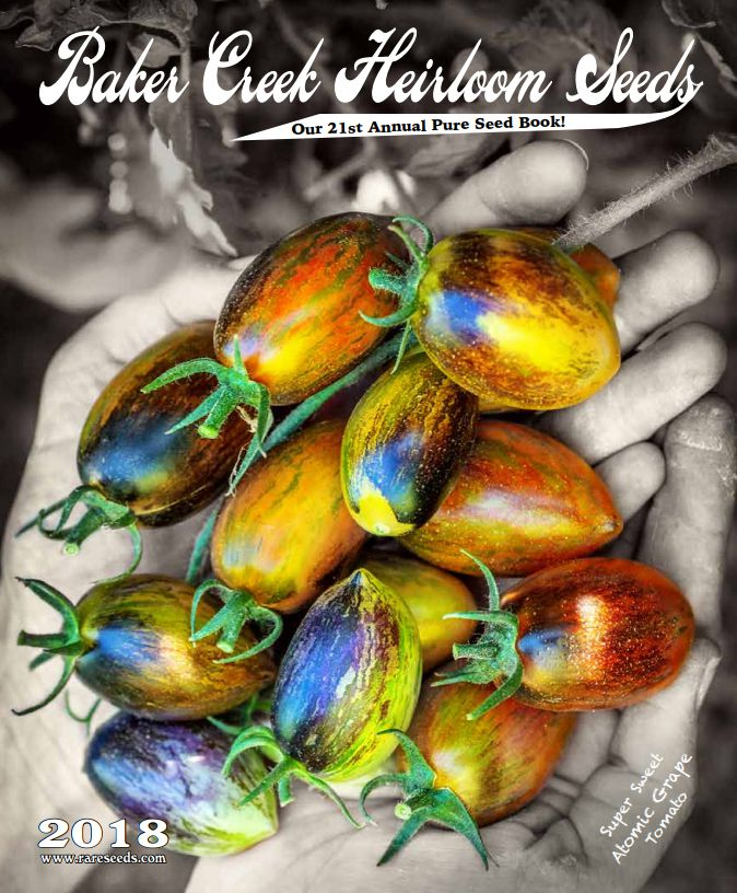 The Baker Creek Heirloom Seed 2018 catalog