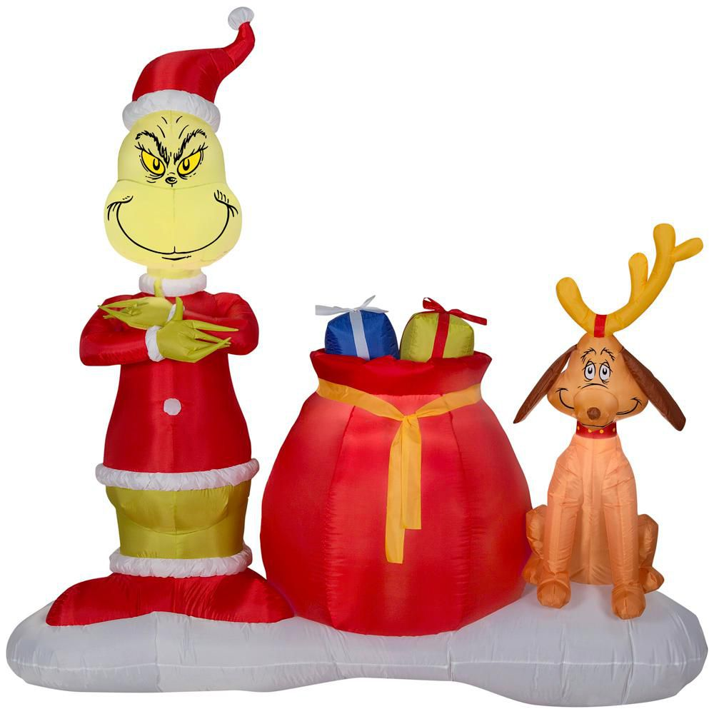 grinch stole christmas - Inflatable Christmas