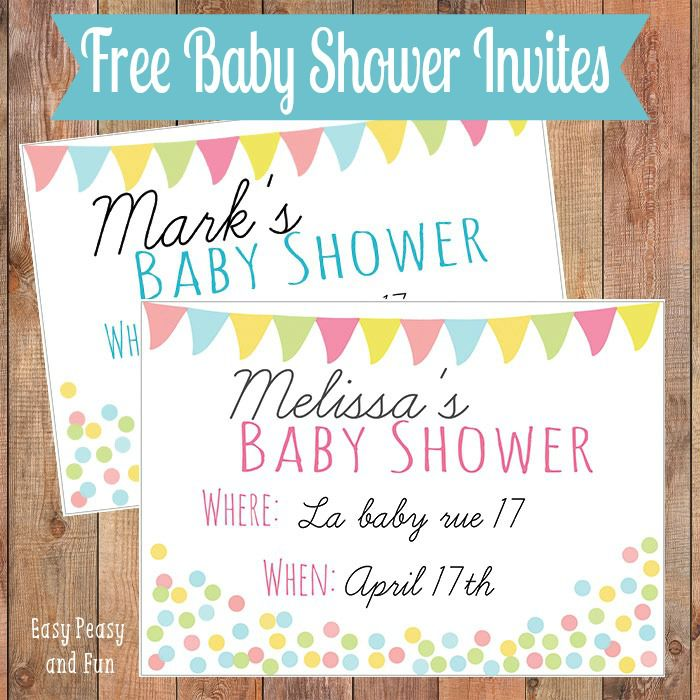 19 sets of free baby shower invitations you can print free baby shower invitations from easy peasy and fun filmwisefo