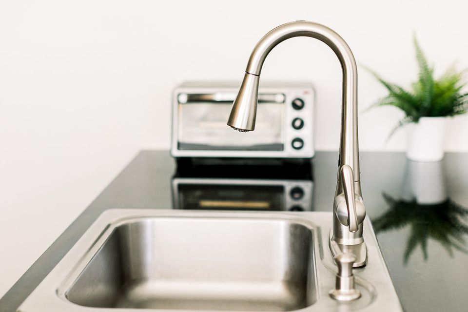 stainless steel kitchen items