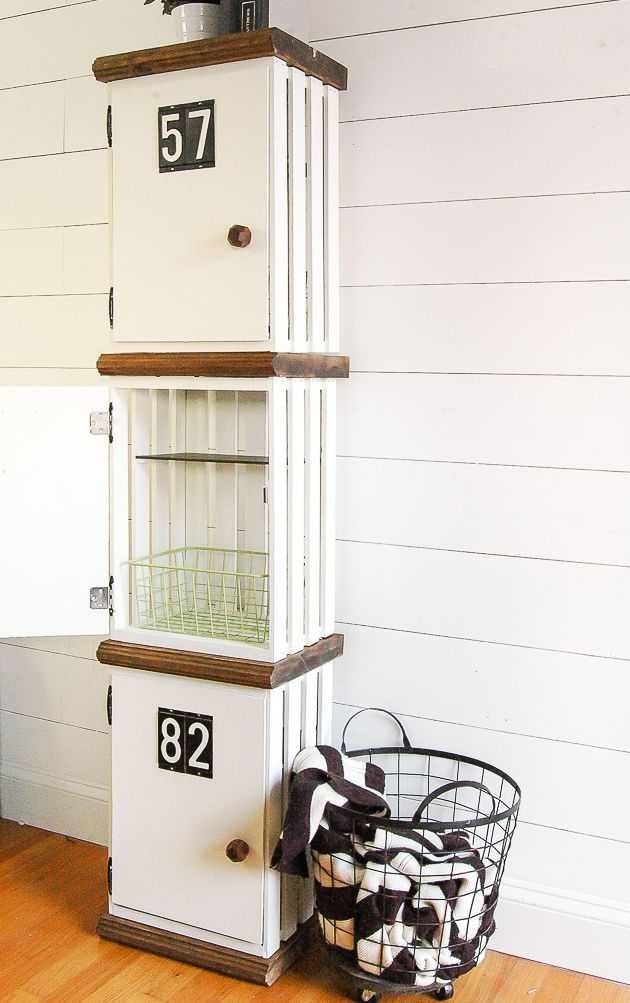 Astonishing 23 Ways To Decorate With Wooden Crates Onthecornerstone Fun Painted Chair Ideas Images Onthecornerstoneorg