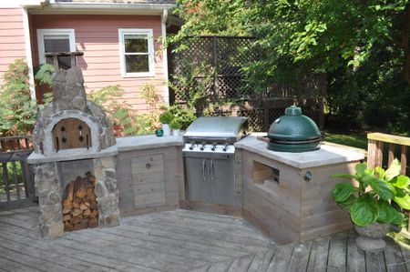 3 Outdoor Kitchens That Will Make You Wish Summer Would Never End