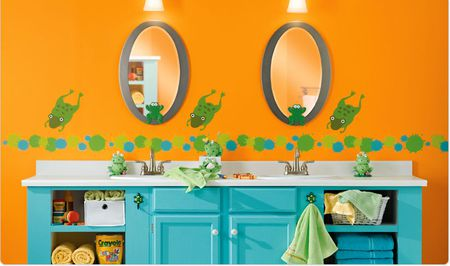 Bathroom Paint Colors For Kids