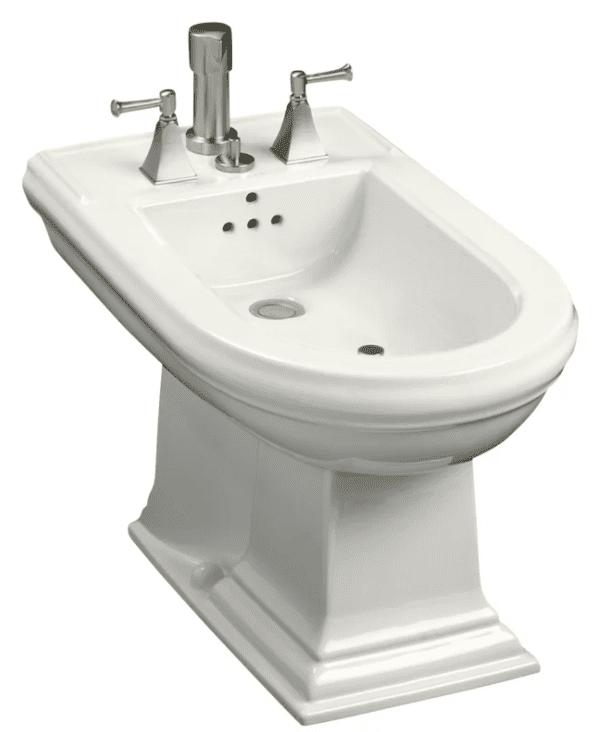 Memoirs Vertical Spray Bidet with 4 Faucet Holes