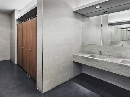 Best Floor Options For Public Restrooms - Best flooring to use in bathroom