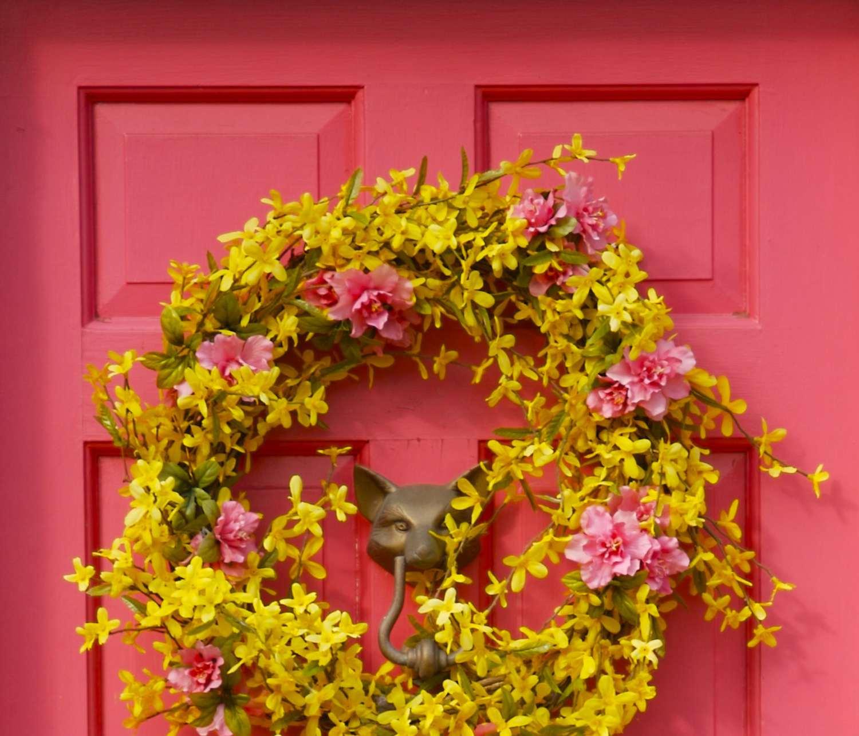 feng shui pink door color southwest