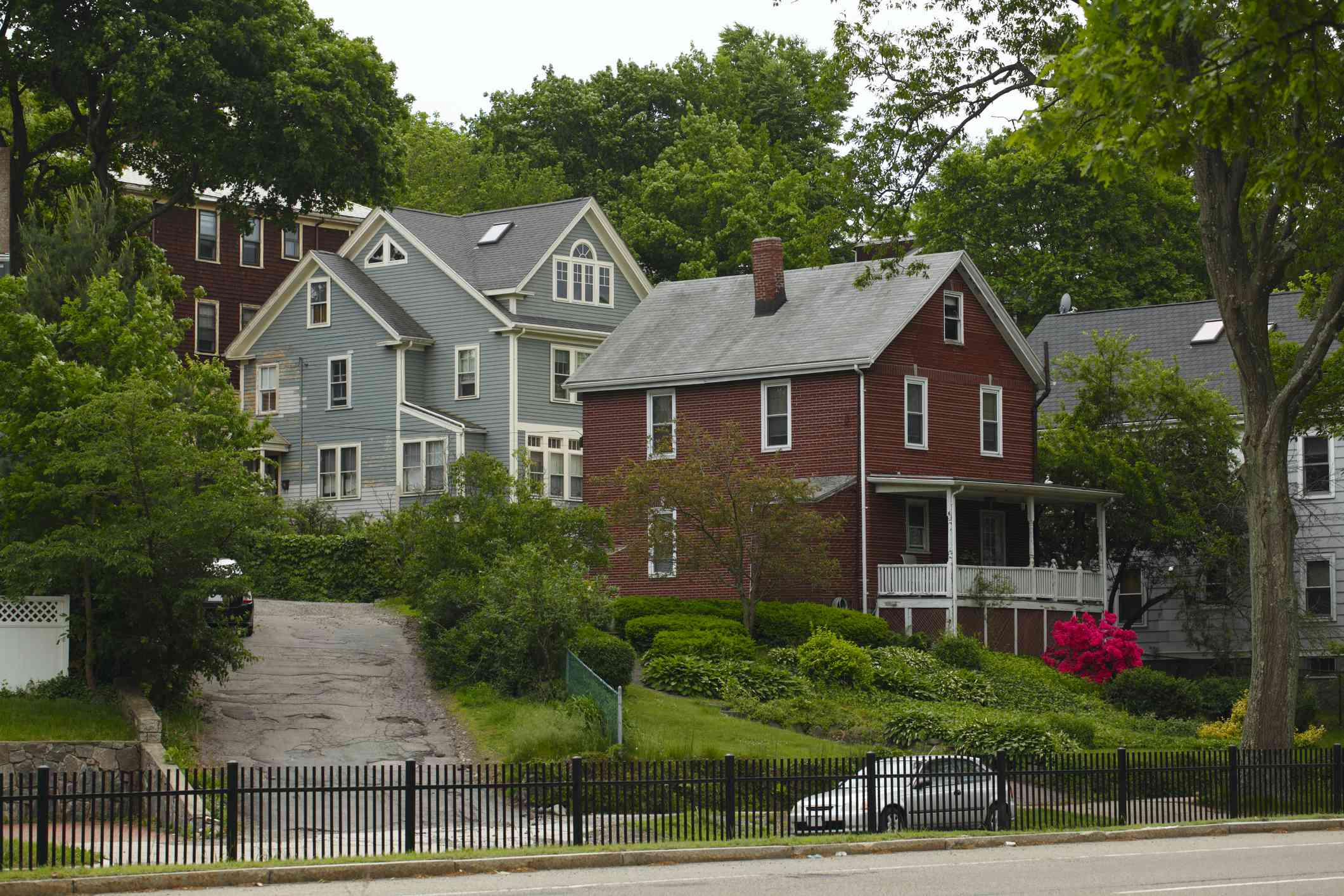 American Colonial-style homes