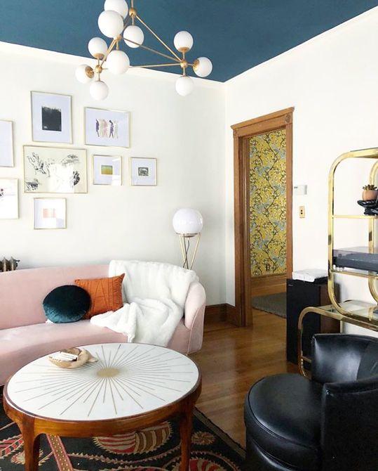 sala de estar moderna iluminación