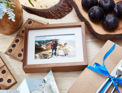 Fifth wedding anniversary wood gift