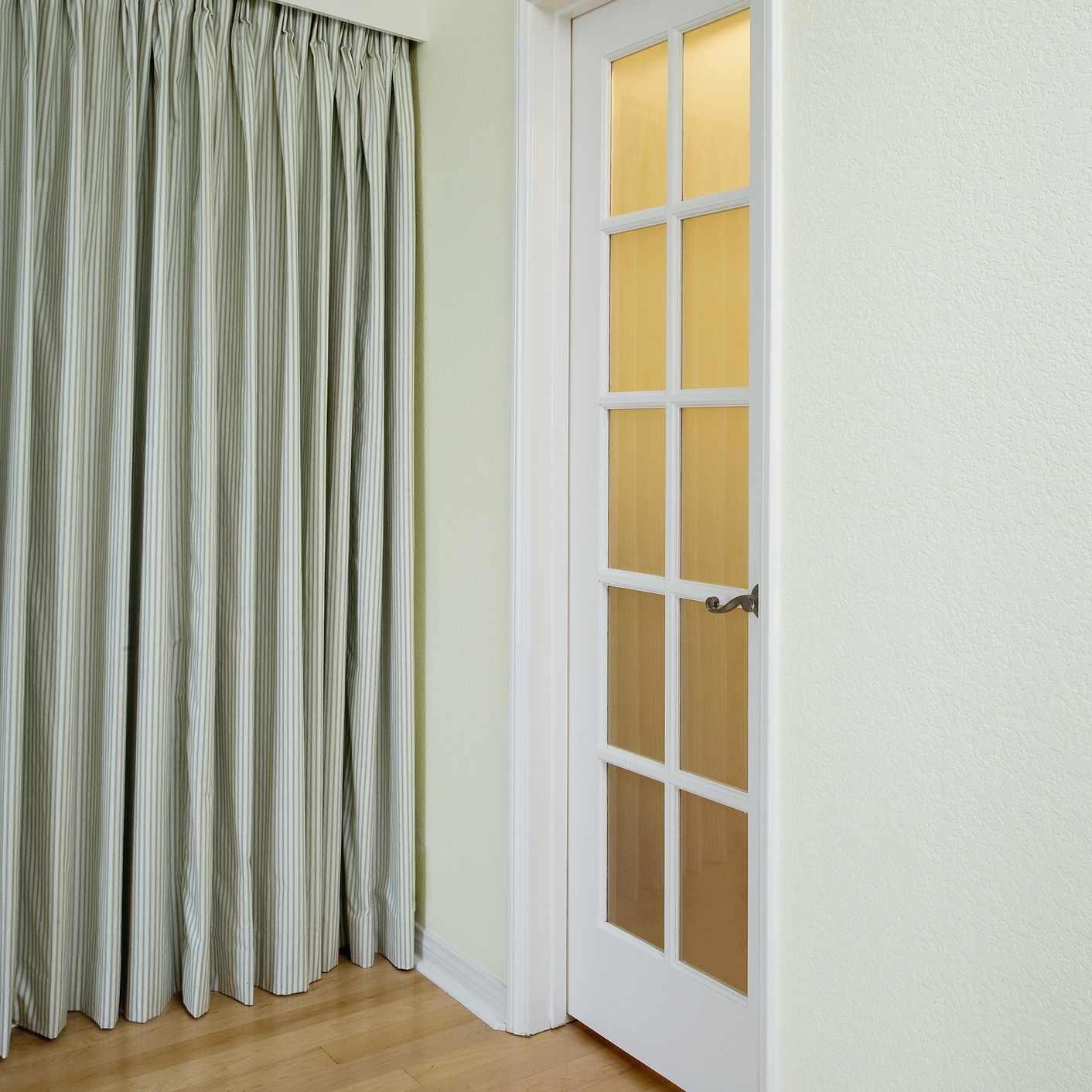 Small closet door