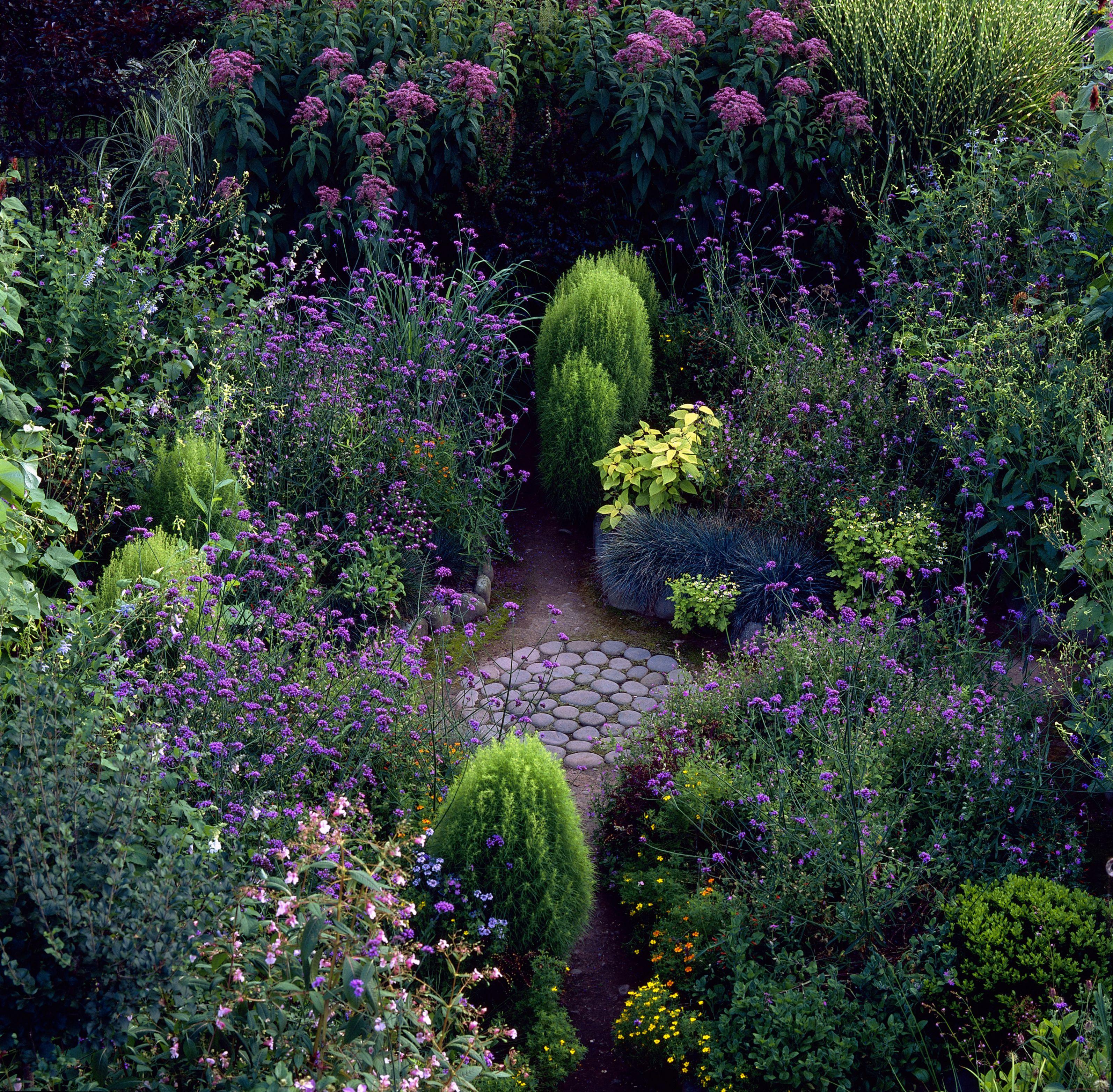 Jardín circular