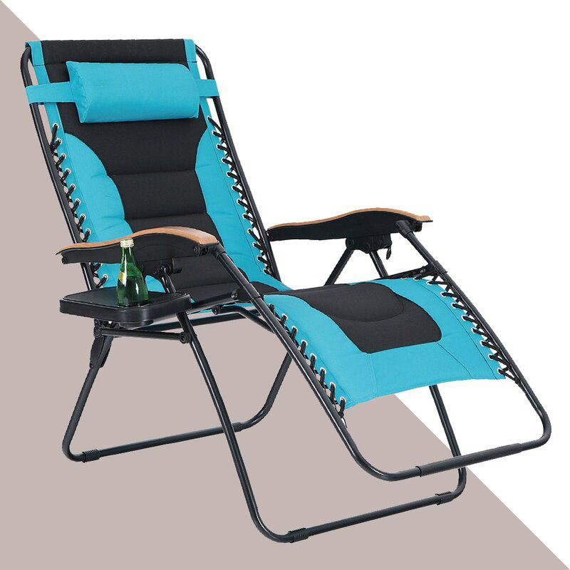 Wayfair Padded Reclining Zero Gravity Chair