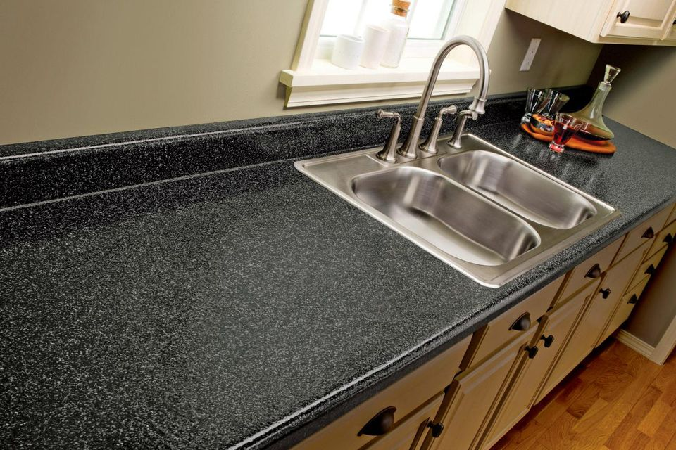 Resurfaced countertop