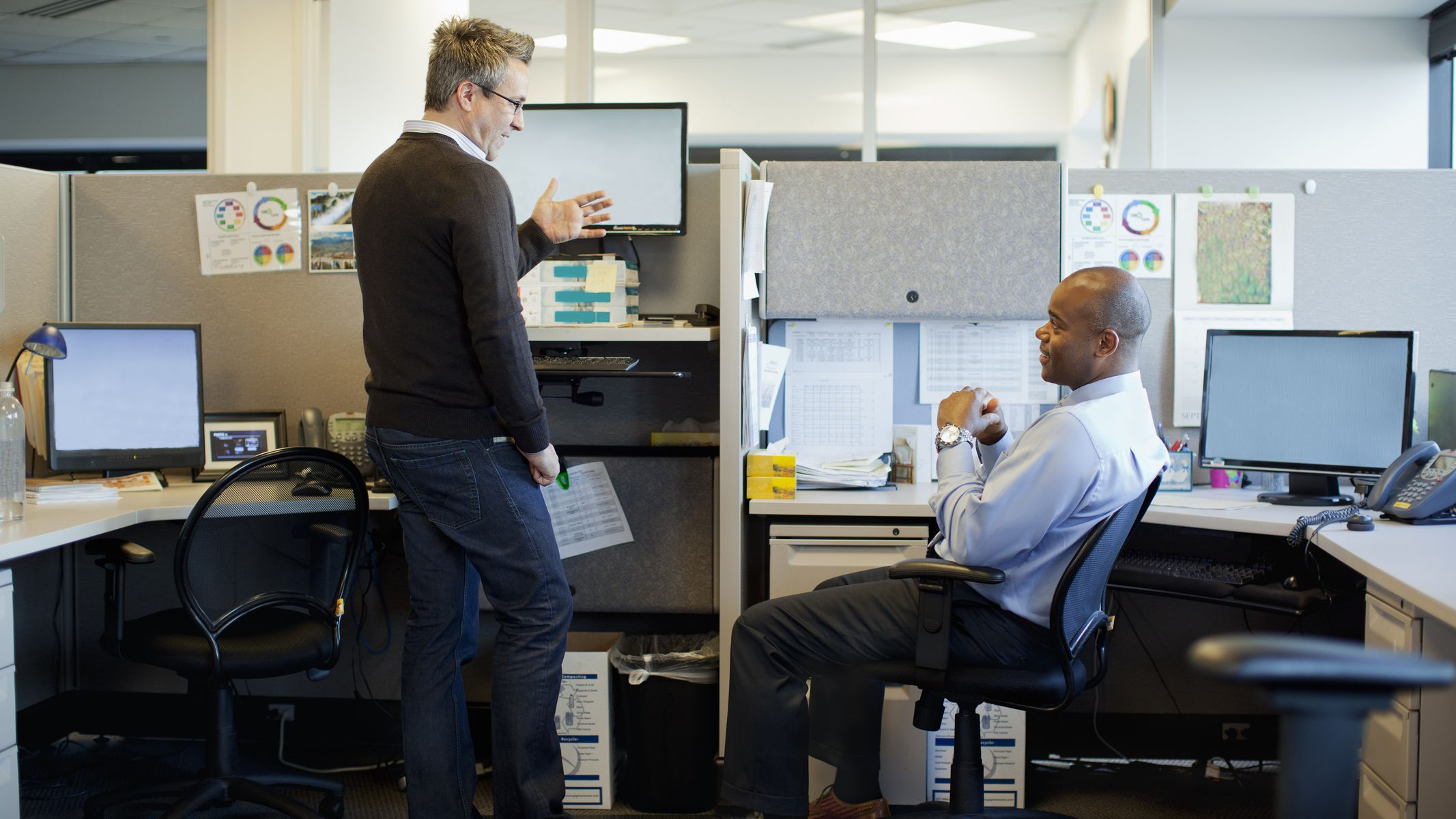 How To Have Proper Etiquette In The Office Cubicle