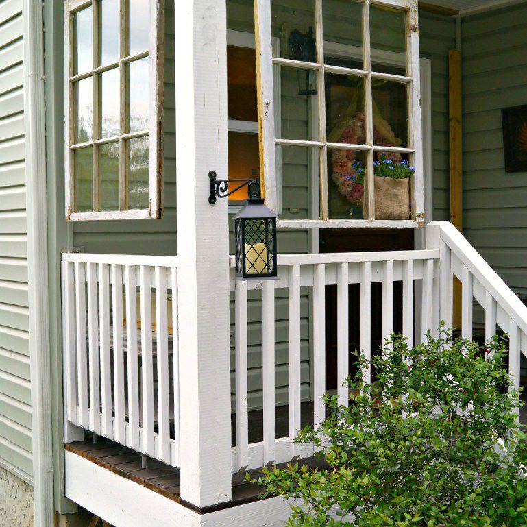 diy porch ideas - outdoor decor