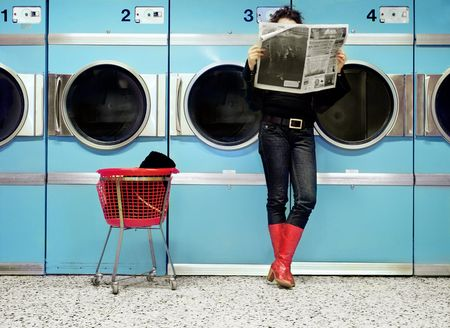 Muriel De Seze Getty Images Apartment Dwellers Are Often Eager To Add A Clothes Washer