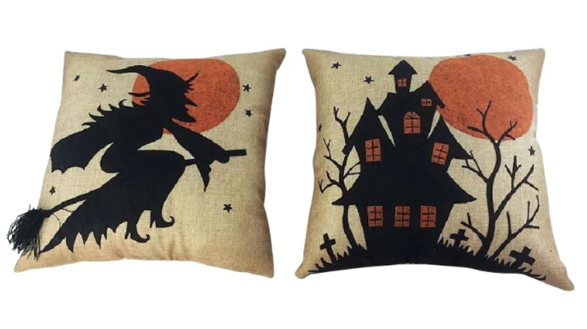 The 40 Best Halloween Decorations To Buy In 40 Enchanting Halloween Pillows Decorations