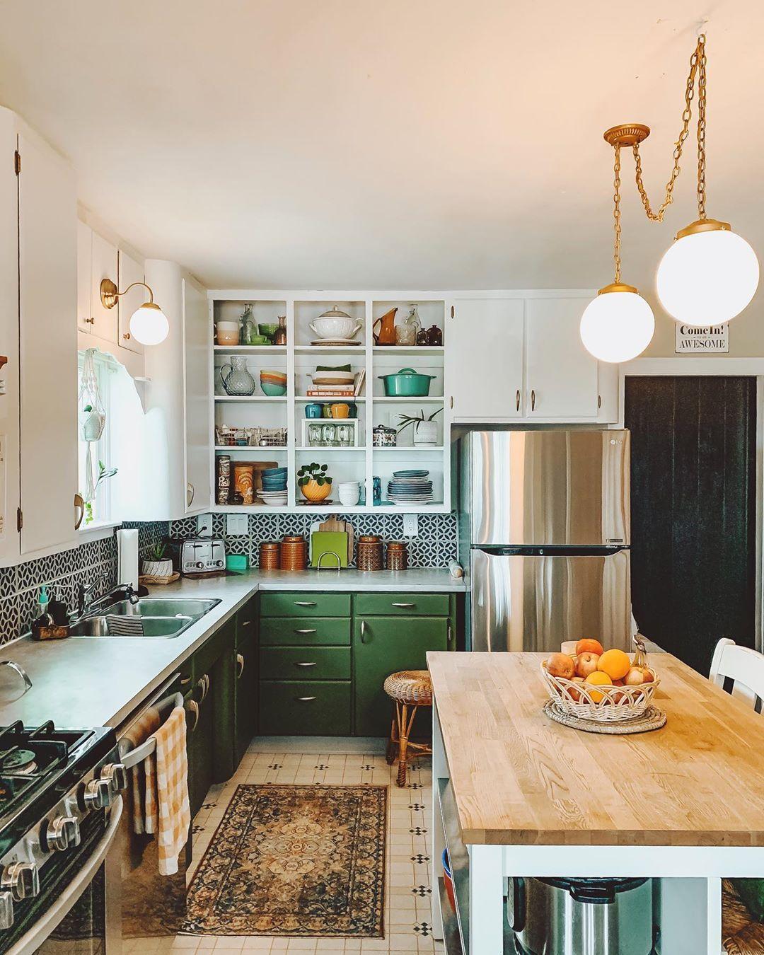 incredible black white kitchen design ideas | 12 1950s Kitchen Ideas