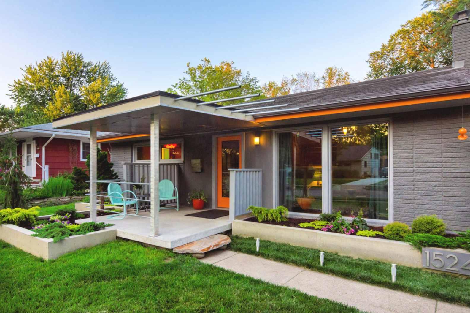 9 Garden Designs for Midcentury Modern Homes