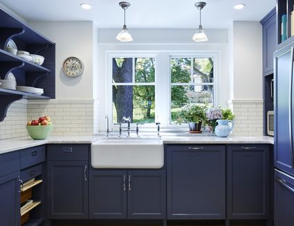 Lovely Putty Colored Kitchen Cabinets