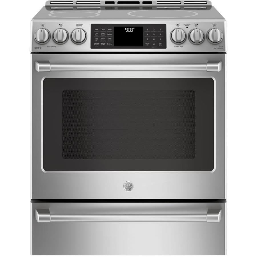 51b27545844 Best for Smart Cooking  GE Cafe 5.6-cu ft Slide-In Induction Range
