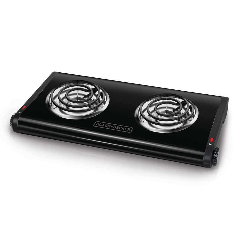 Best Double Black Decker Burner Portable Buffet Range