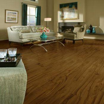 piso laminado de nogal