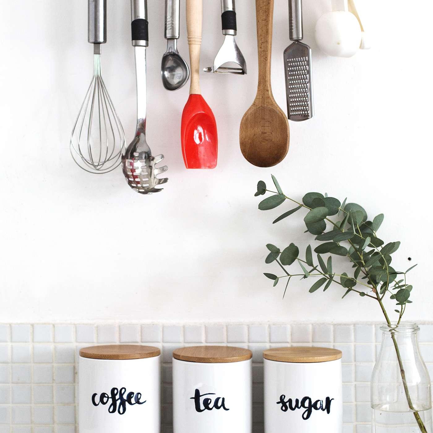 DIY Kitchen Storage Jars