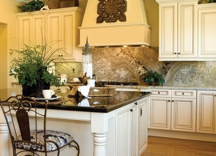 Haven Biscuit Glaze Kitchen Islands With Seating