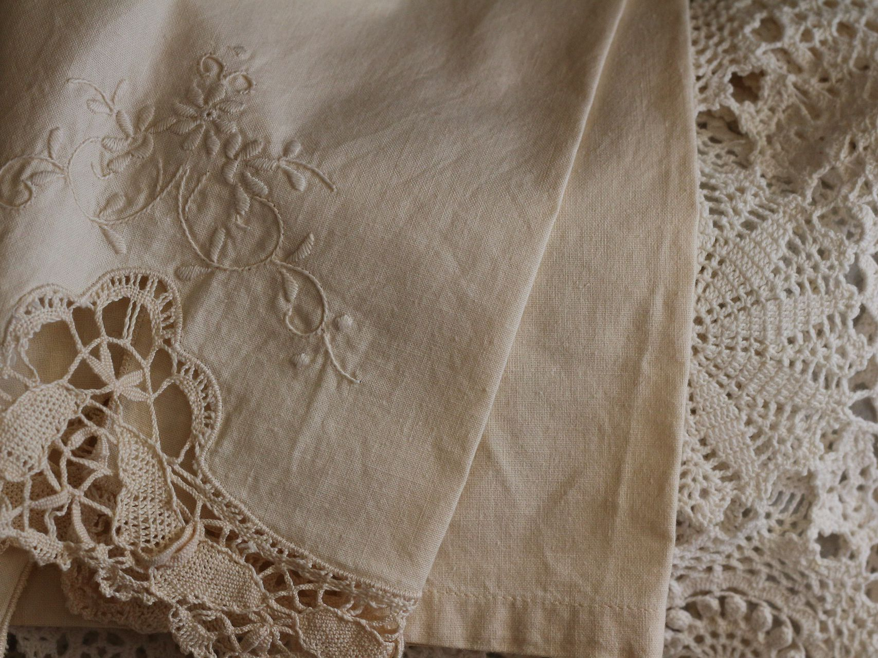 How To Wash And Care For Antique And Vintage Linens