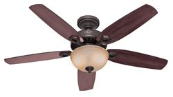 The 7 best ceiling fans to buy in 2018 best overall hunter 53091 builder deluxe single light ceiling fan buy on amazon mozeypictures Images